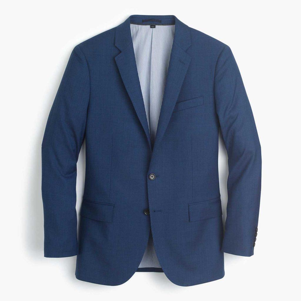 Prince Harry's Blue Engagement Suit