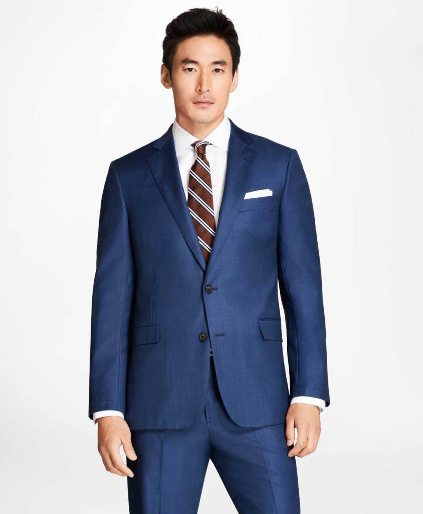 Brooks Brothers Regent Fit Sharkskin Suit