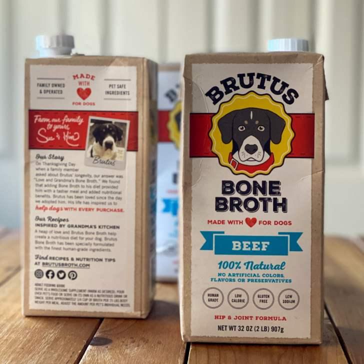 Meet Brutus Bone Broth for dogs