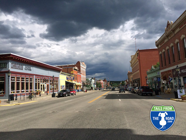 Downtown Leadville at 10,152 feet.