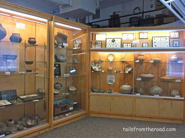 a ton of pottery.