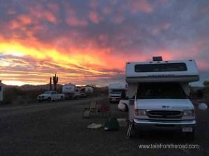 Camping in Quartzsite