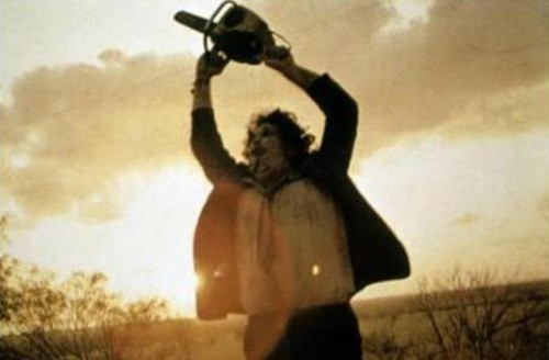 Leatherface in 'The Texas Chainsaw Massacre' 1974