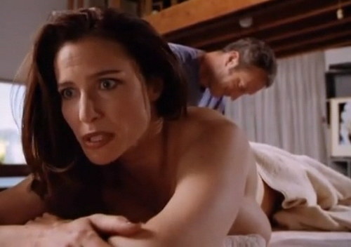 Mimi Rogers gets fully nude in much of 'Full Body Massage'