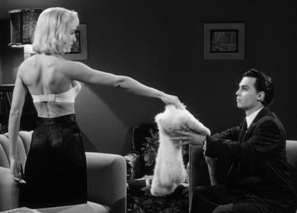 Johnny Depp and Sarah Jessica Parker in 'Ed Wood'