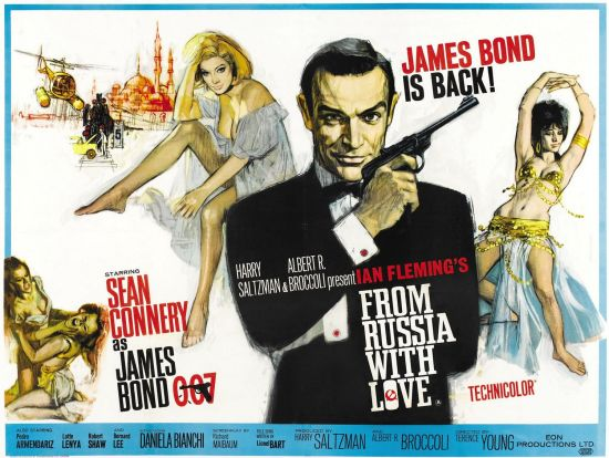 One-sheet for 'From Russia with Love'