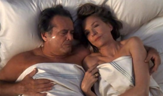 Jack Nicholson and Diane Keaton get cozy in 'Something's Gotta Give'