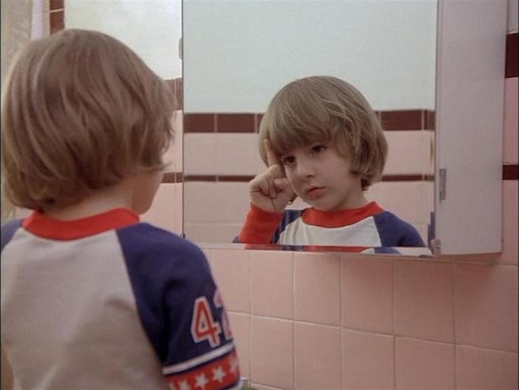 Danny Lloyd in The Shining.