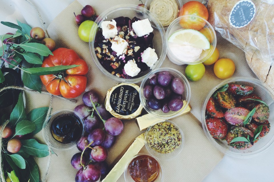 spier wine farm picnic