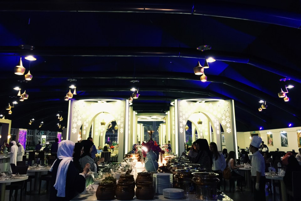Emaar Downtown Iftar Tent