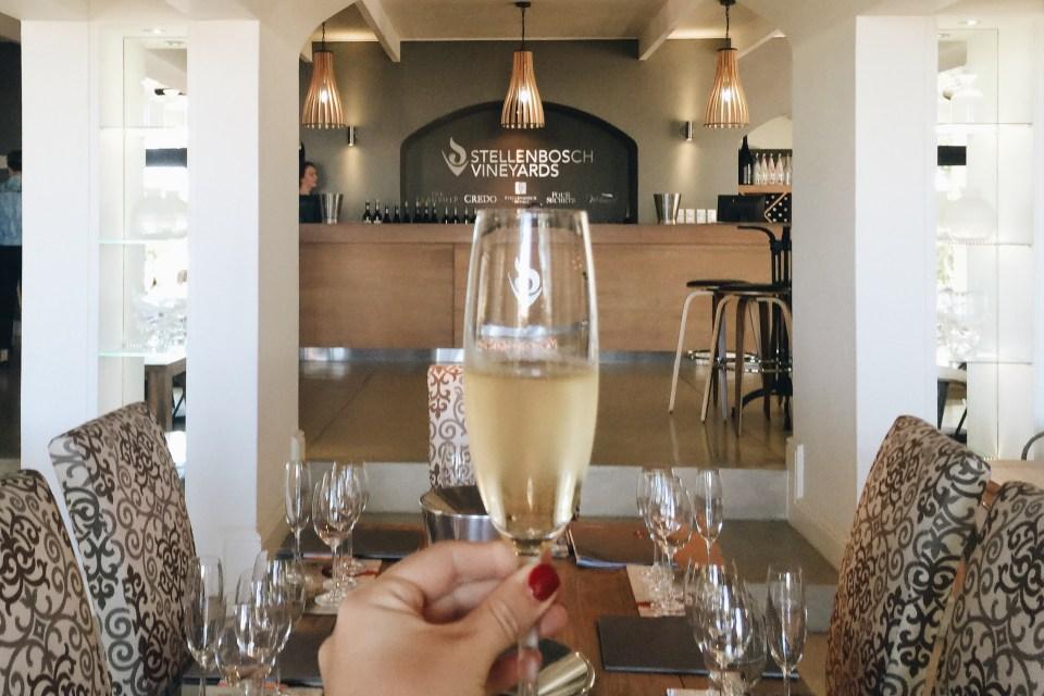 Cheers to Stellenbosch Vineyards