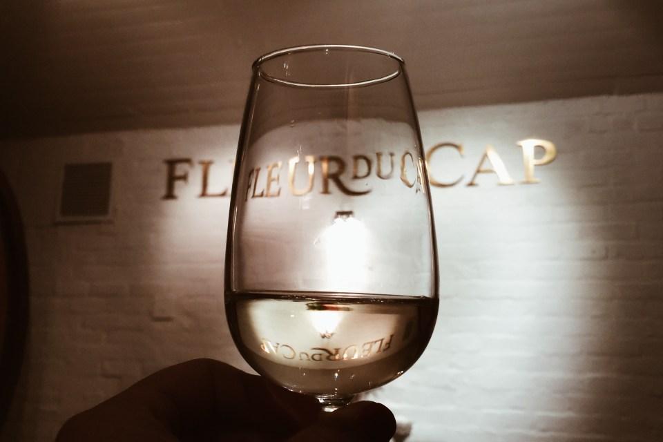 The salt and wine pairing at Fleur du Cap is something else!