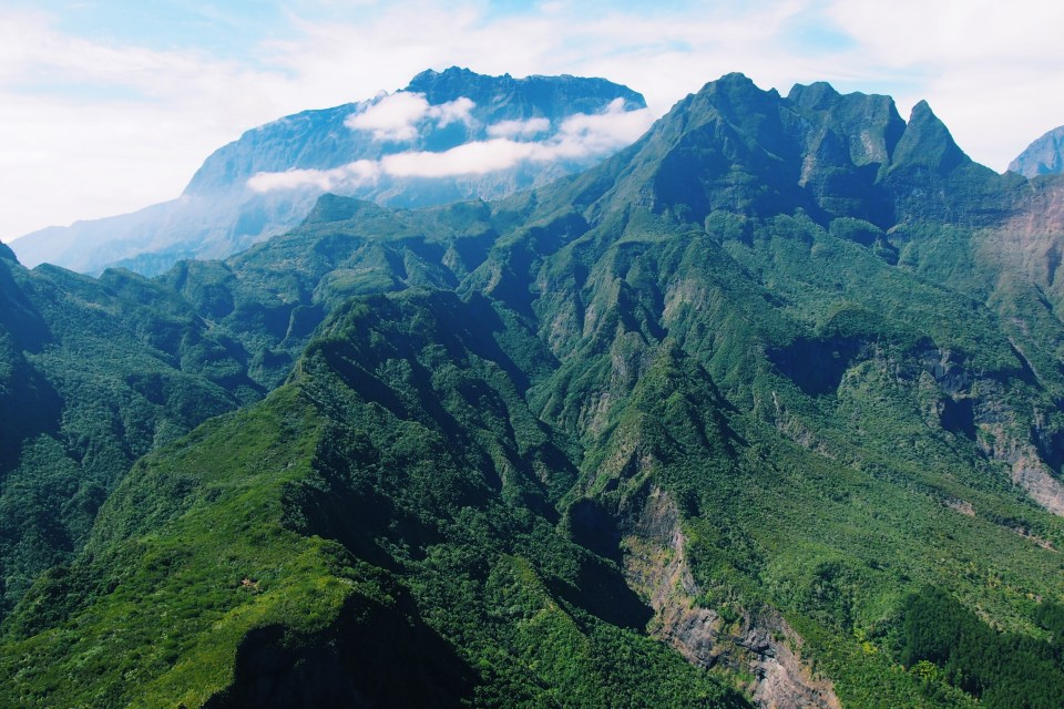 Reunion Island Hiking