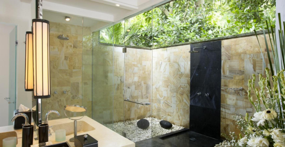 Villa The Sanctuary Bali shower