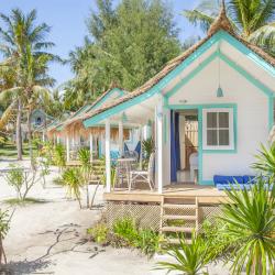 Le Pirate Gili Trawangan huts