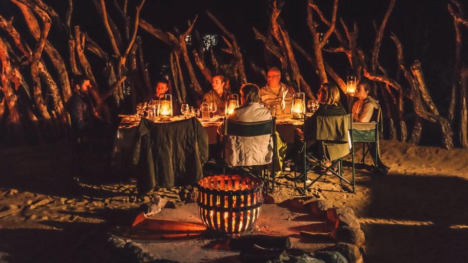 boma dinner jock safari lodge