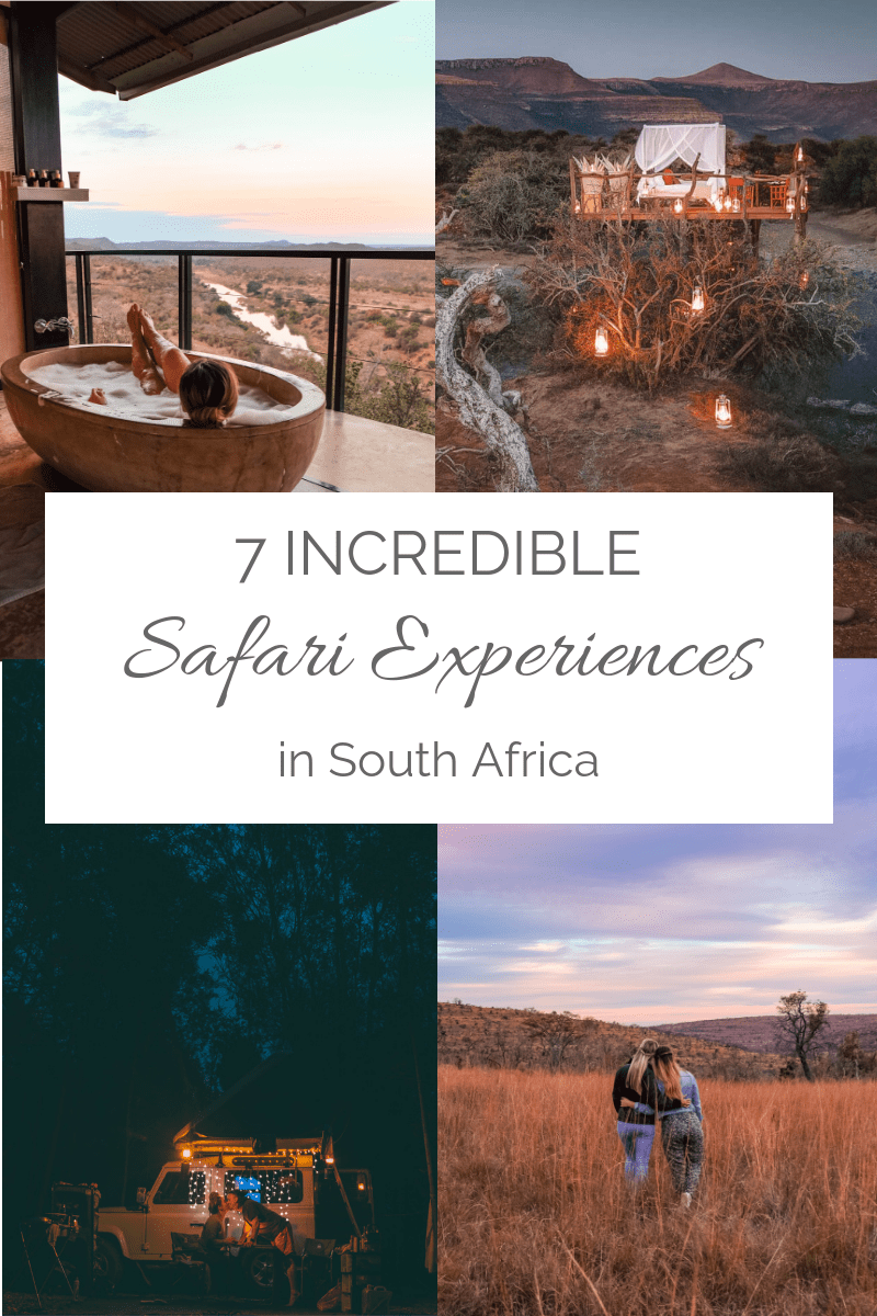 7 safari experiences in south africa
