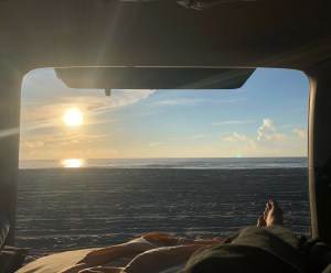 Beach camping in the 4Runner