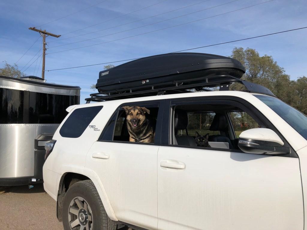 Toyota 4Runner Gobi Rack and Airstream Basecamp