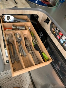 Airstream Basecamp Cutlery Drawer