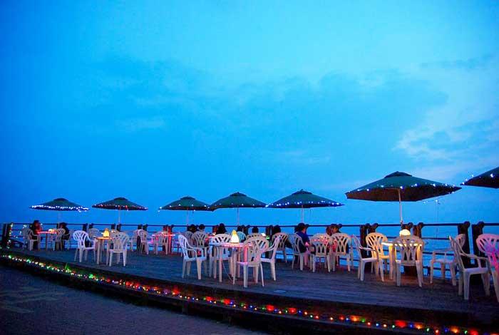 黃金海岸—白天黑夜不同的黃金海岸台南景點
