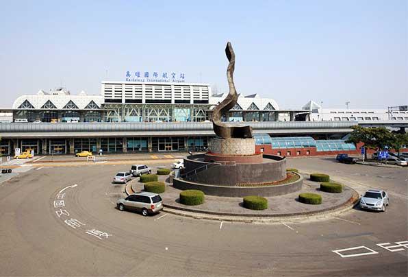 我在小港機場竟然可以坐到國際服務的車?