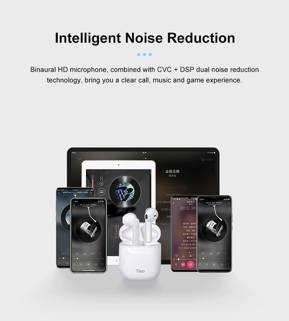 Tai nghe True Wireless Tiso IX | Hàng chính hãng