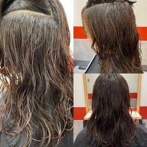 縮毛矯正,ストレートパーマ,髪質改善