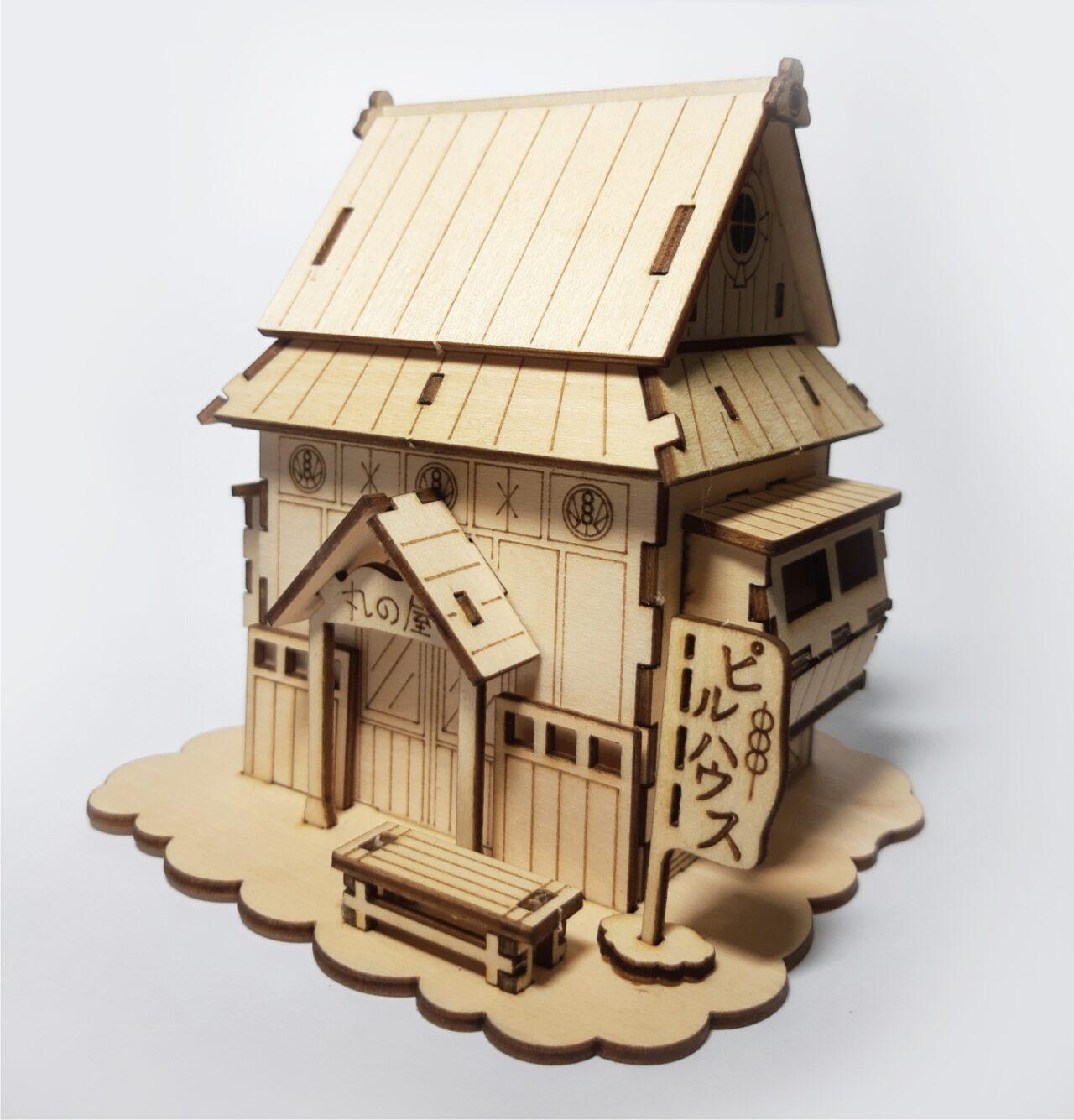 DIY丸子屋模型 / 日本建築 - 泰電雷切工作坊