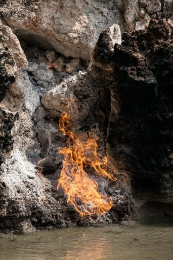 Water and Fire Crevice