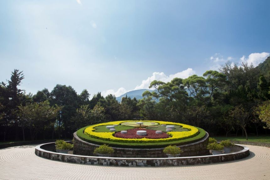 Flower clock in Yangming Park
