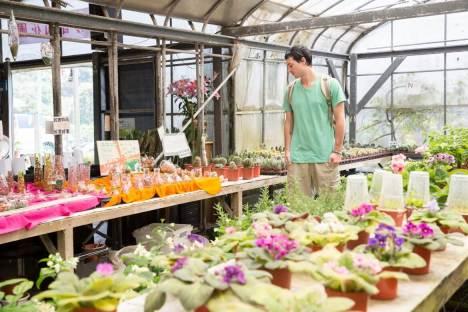 Flower shop at Zhuzihu