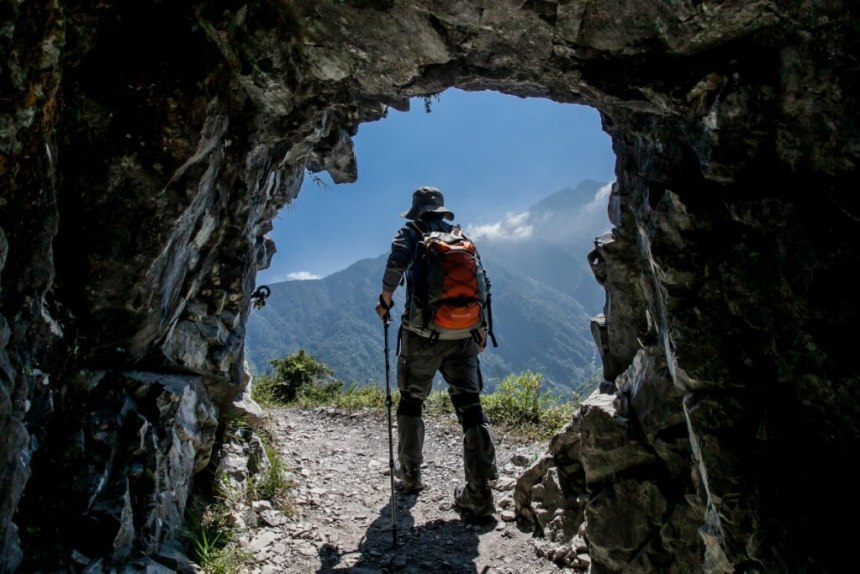 Hiking the Zhuilu Trail