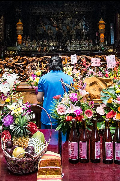ghost-month-in-taiwan-offerings