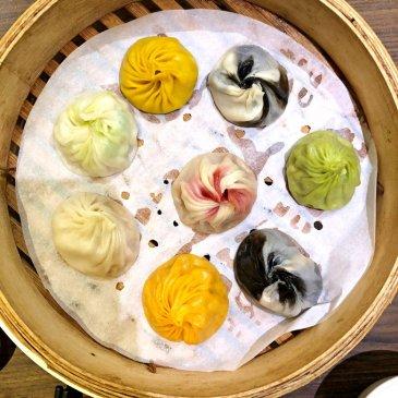 Soup dumplings of 7 colors (image source: Taiwan Scene)