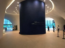 Inside of National Taichung Theater (image source: Taiwan Scene)