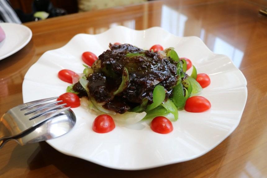Taiwan Scene_FunNow_Yuyan Restaurant_Bitter melon with Plum sauce (冰梅苦瓜)
