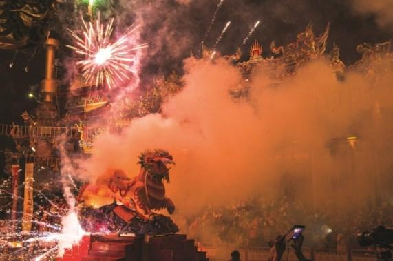 Baosheng Cultural Festival is one of Taiwan's most representative celebrations. (photo_Chang Ziyu)