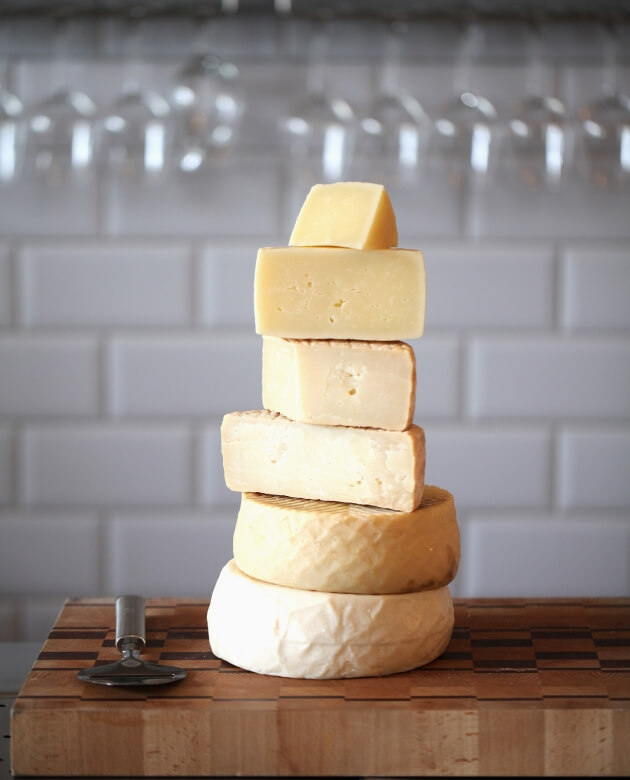 Dida cheese tower