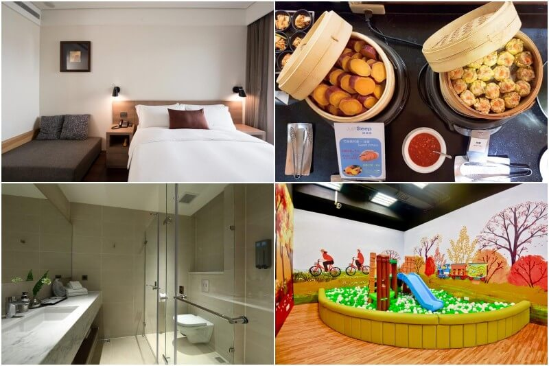 Just Sleep Hualien Zhongzheng is located centrally with in Hualien City.