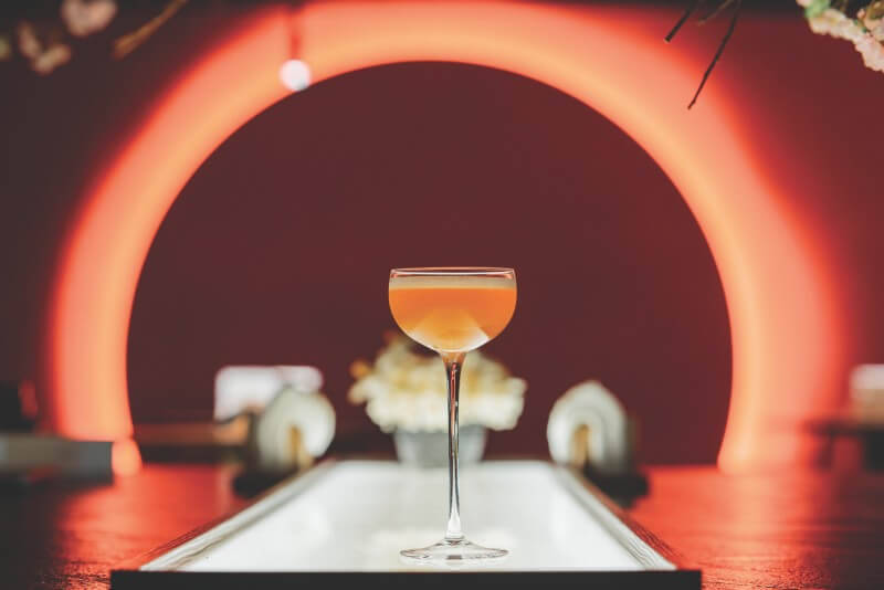 Try a cocktail made with Tieguanyin and honey at Bar Weekend in Taipei.