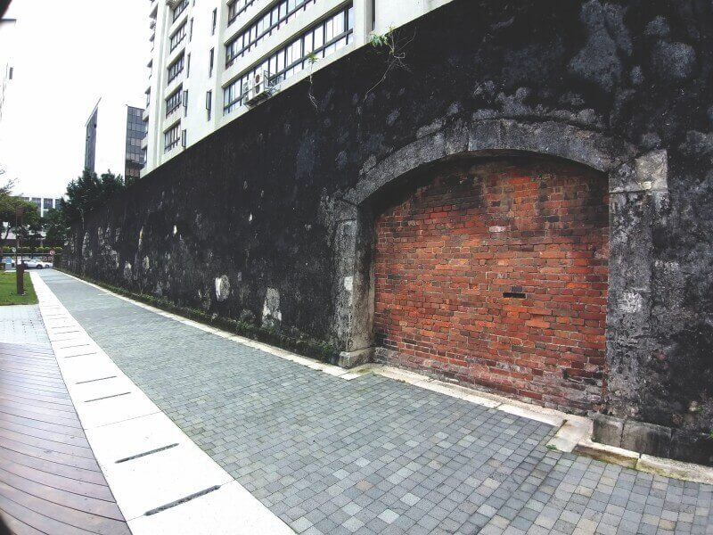 Remains of Taipei Prison Wall is 5 minutes away from Yongkang Street