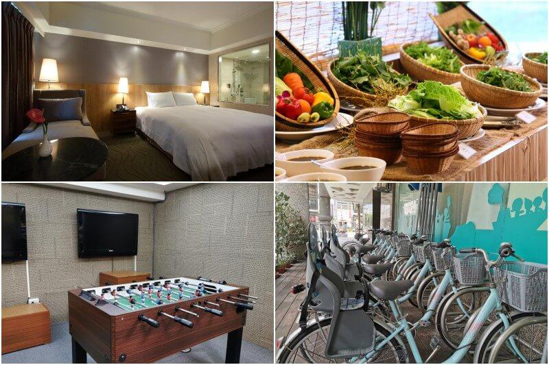 Azure Hotel in Hualien, Taiwan