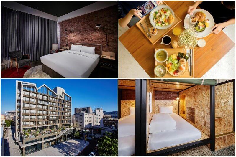 U.I.J Hotel & Hostel in Tainan.