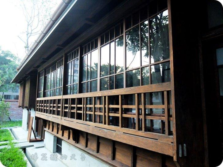 00日式建築4 - 《台中景點》日式風味台中文學館(上)氣質公園伴著有故事的牆