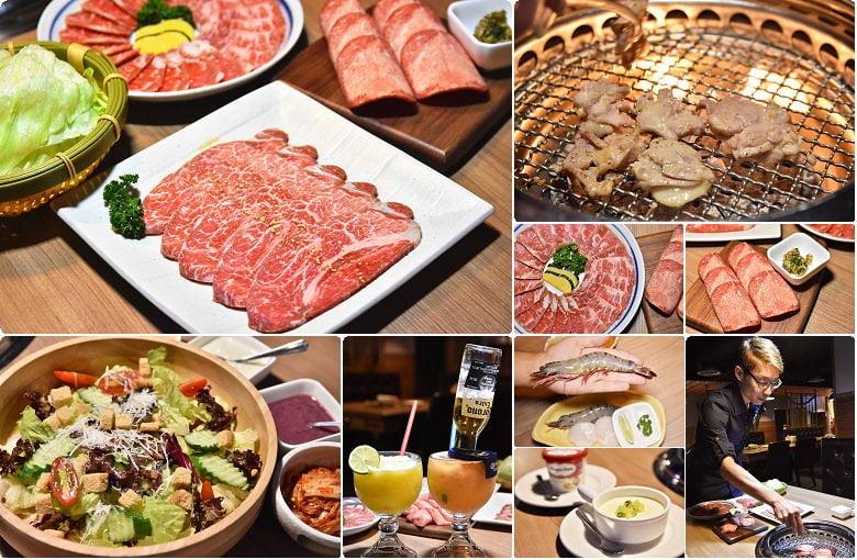 【熱血採訪】雲火日式燒肉 ,專人幫烤輕鬆品嘗最佳賞味期,手掌大的草蝦也會幫忙剝好上桌
