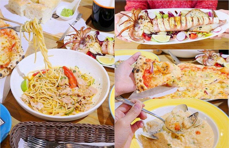 【熱血採訪】默爾義大利餐廳:漂亮歐風裝潢義式餐酒館 想吃義大利麵 燉飯 披薩 啤酒或焗烤通通有!
