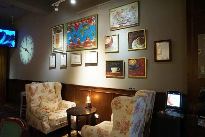台中大里︱亨利貞精品咖啡館Henry Jane Coffee 復古上海風 質感推薦
