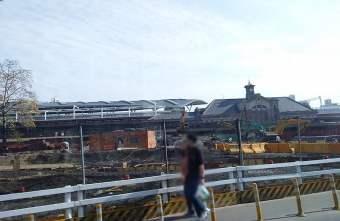 2018 02 20 212952 - 台中火車站前大改造工程 塵土飛楊怪手機具進駐 建議最不受干擾的接送交通動線