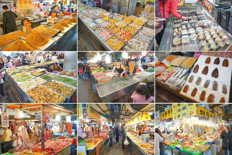 臺中黃昏市場│佔地超大攤位超多的新光黃昏市場。比夜市還要好逛 – 熱血臺中